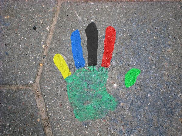 Olympic hand