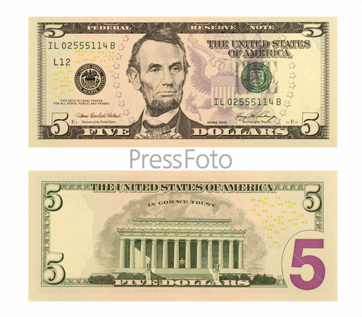 Five Dollar Bill Clip Art Vector Images amp Illustrations