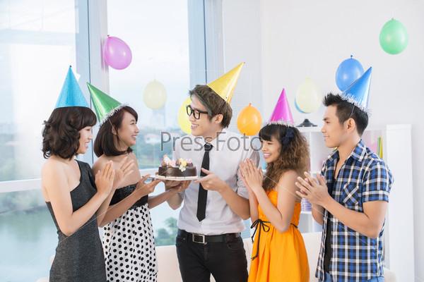 Teen celebration