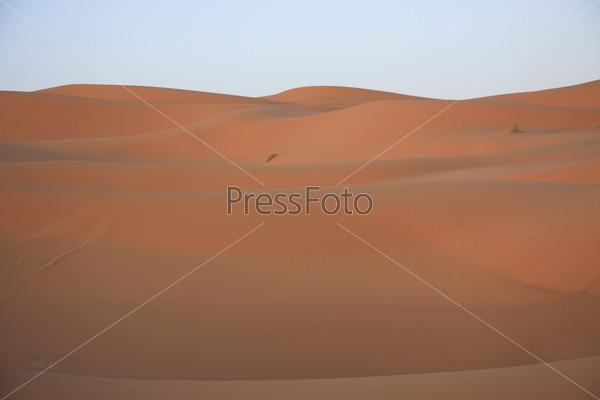 Песчаные дюны Сахары