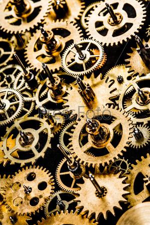 Фотография на тему Старый механизм в качестве фона