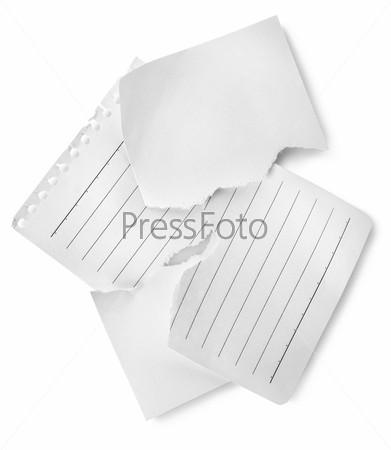 Листы линованной бумаги