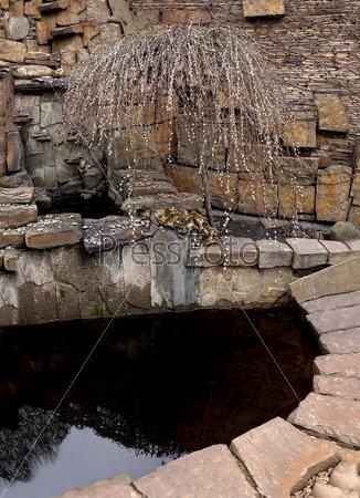 Фотография на тему Искусственный пруд