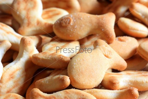 Печенье на завтрак в виде рыбок