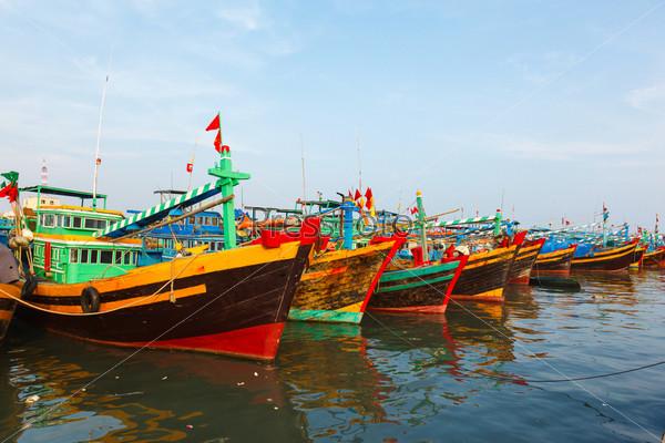 Рыбацкие лодки, Вьетнам
