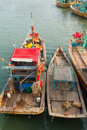 Фотография на тему Рыбацкие лодки, Вьетнам