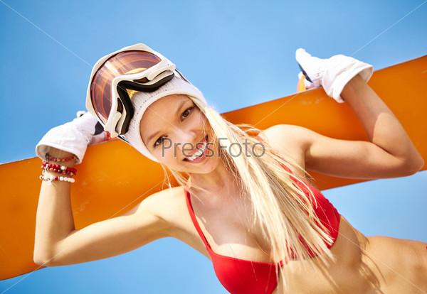 Фотография на тему Летний сноубордист