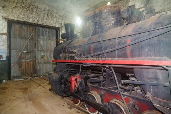 Фотография на тему Старый локомотив