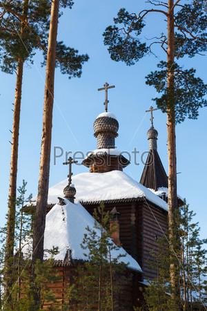 Фотография на тему Деревянная церковь