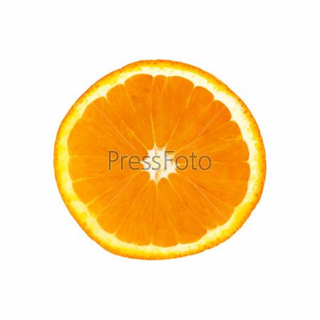 Сочная долька апельсина