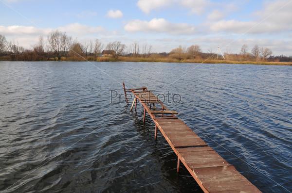 Мост на реке
