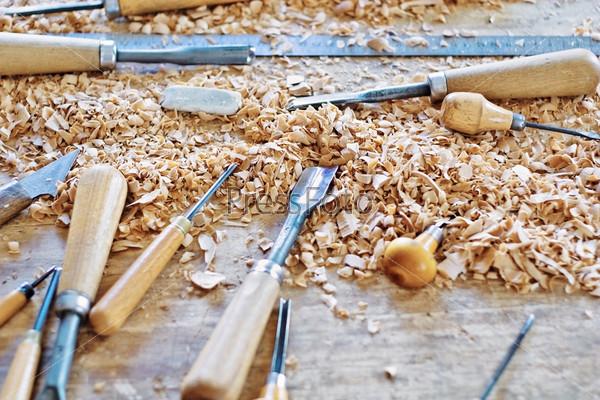 Фотография на тему Инструмент для обработки дерева