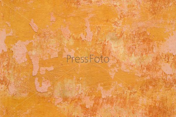 Фотография на тему Бесшовная текстура. Стена с трещинами и облупленной краской