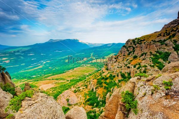 Фотография на тему Горный пейзаж