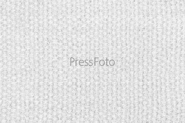 Белая льняная текстура для фона