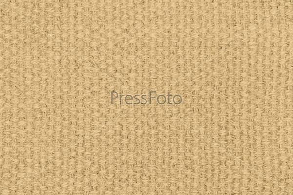 Желтая льняная текстура для фона