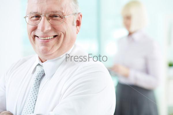Фотография на тему Радостный работодатель