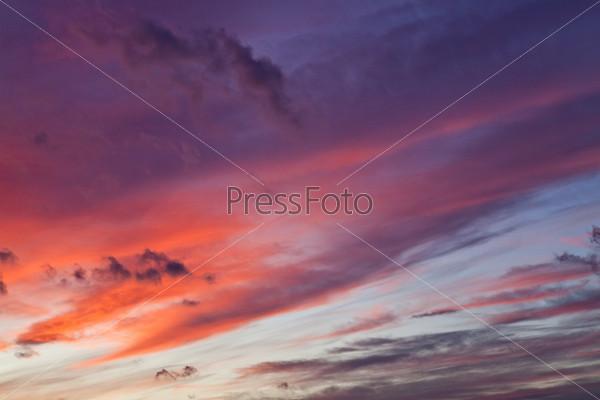 Небо после шторма