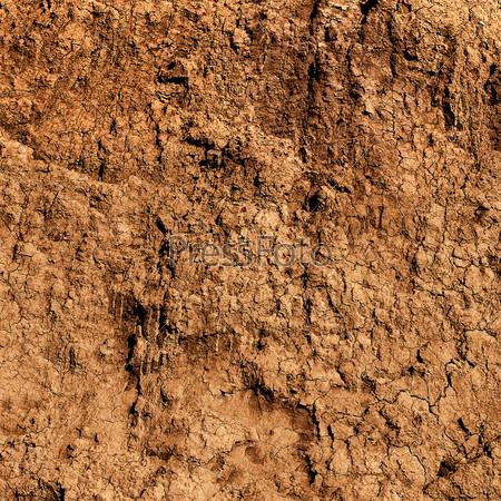 Поверхность глины