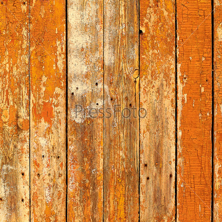 Старые коричневые деревянные доски с