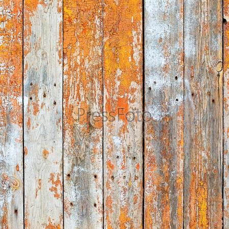 Старые потрескавшиеся деревянные доски