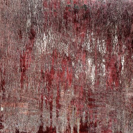 Фотография на тему Текстурированный фон из старой деревянной поверхности