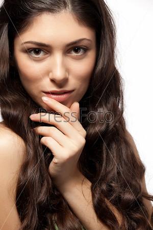 Фотография на тему Портрет красивой женщины