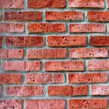 Фотография на тему Старая красная кирпичная стена