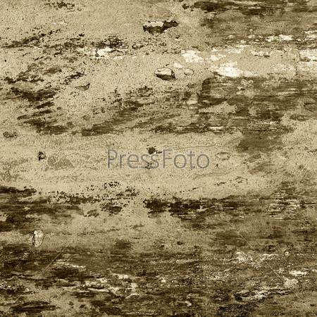 Гранжевая потрескавшаяся бетонная стена