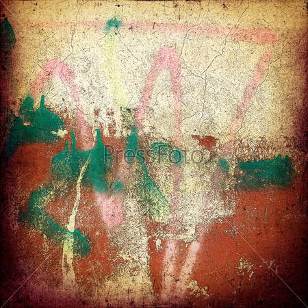 Фотография на тему Грязный абстрактный фон из старой бумаги