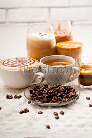 Фотография на тему Различные виды кофе