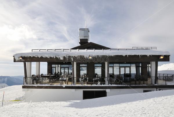 Фотография на тему Ресторан на пике «Роза Хутор», Сочи