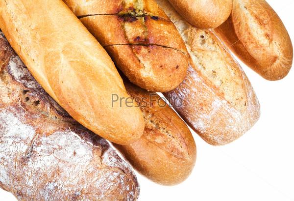 Свежий печеный хлеб