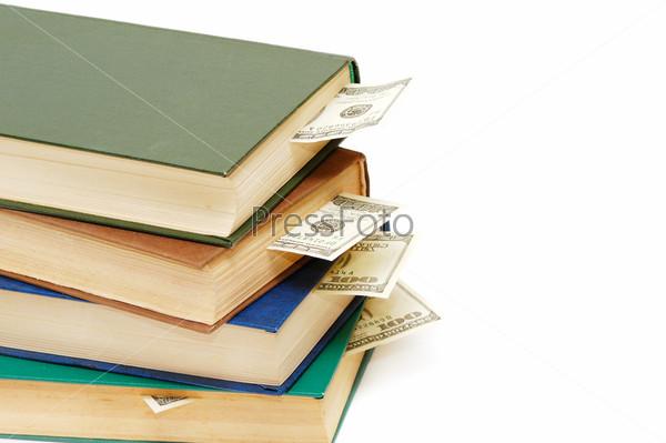 Книги с закладками