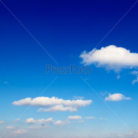 Фотография на тему Белые облака