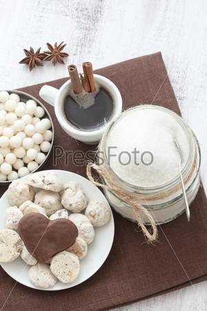 Фотография на тему Кофе и конфеты