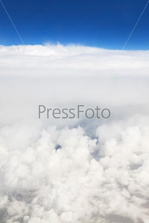 Красивые кучевые облака