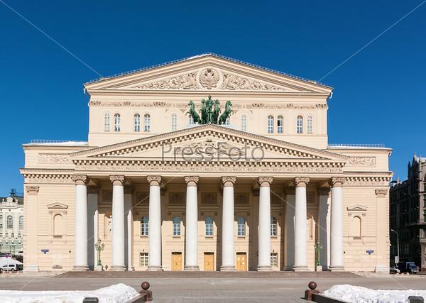 Фотография на тему Большой театр, Москва, Россия