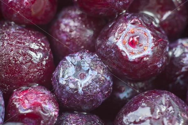 Спелые замороженные ягоды