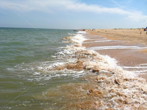 Панорама моря и побережья