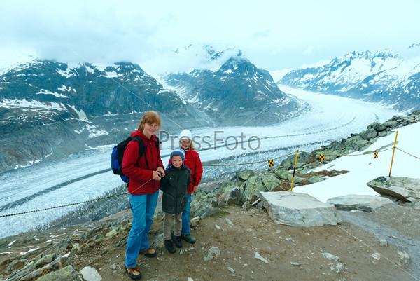 Фотография на тему Большой Алечский ледник (Беттмерхорн, Швейцария)