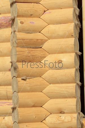 Текстура деревянной стены
