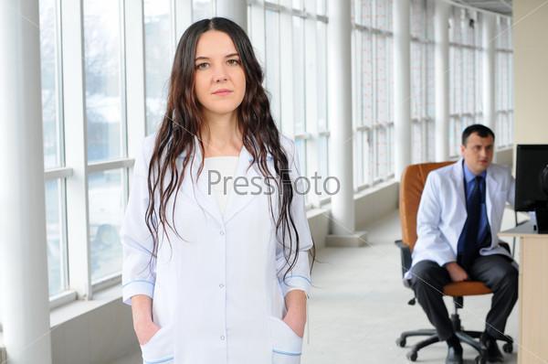 Фотография на тему Врачи в современной больнице