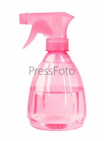 Пластиковый розовый опрыскиватель