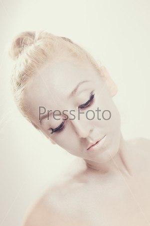 Портрет красивой балерины
