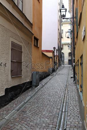 Стокгольм, улица в старом городе