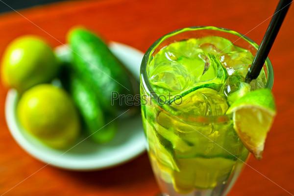Фотография на тему Огуречный лимонад