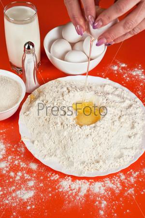 Фотография на тему Ингредиенты для выпечки