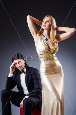 Фотография на тему Пара в концепции веселой любви