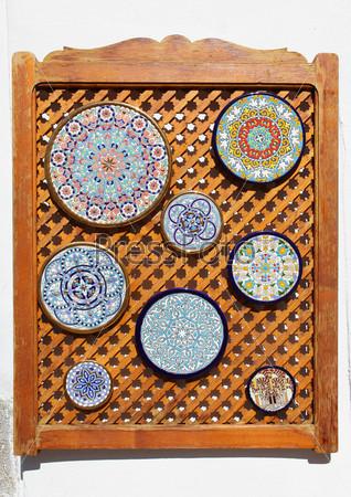 Типичные андалузские тарелки
